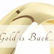 بازگشت حلقه های طلایی ازدواج