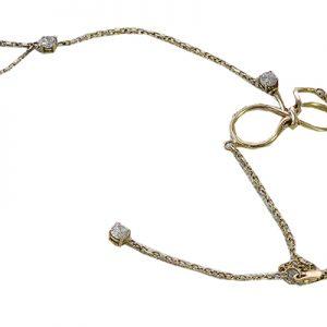 دستبند با سنگ زیرکن