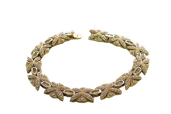 دستبند با سنگ زیرکن با کد محصول BR.0002