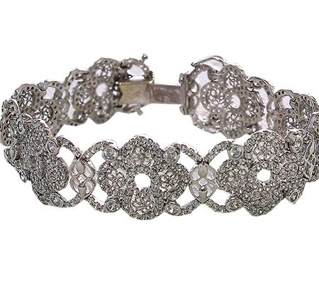 دستبند با سنگ الماس با کد محصول BR.0005