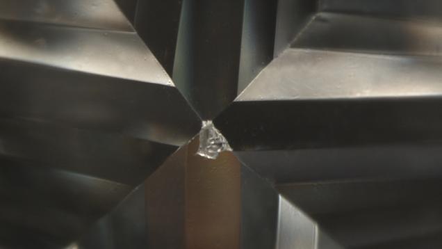 پوسته شدگی الماس