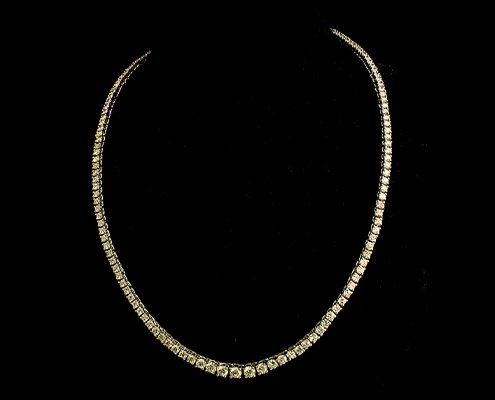 گردنبند با سنگ الماس با کد محصول NE.0005