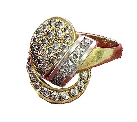 انگشتر با سنگ الماس