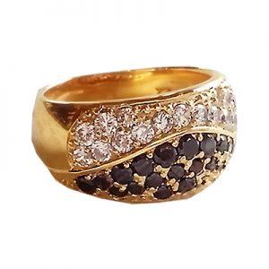 انگشتر با سنگ الماس با کد محصول RI.0015