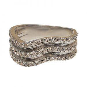 انگشتر با سنگ الماس با کد محصول RI.0022