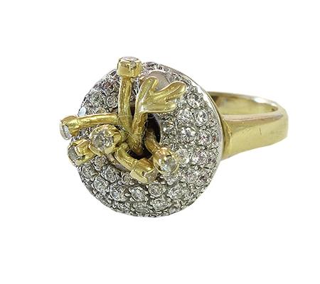 انگشتر با سنگ الماس با کد RI.0003