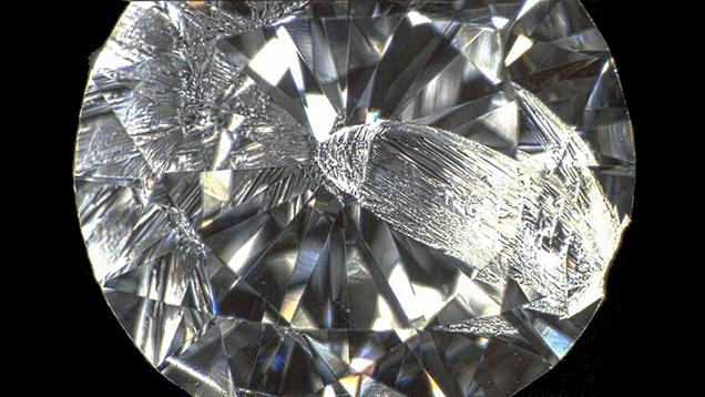 الماس پوسته شده