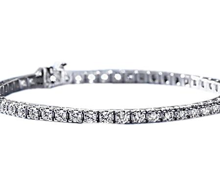 دستبند با سنگ الماس با کد محصول BR.0008