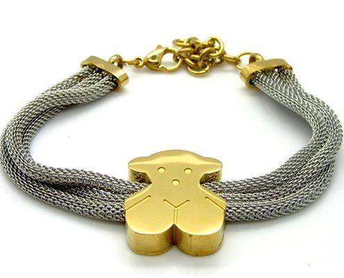 دستبند دو رنگ با کد محصول BR.0012