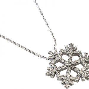 گردنبند با سنگ الماس با کد محصول NE.0006