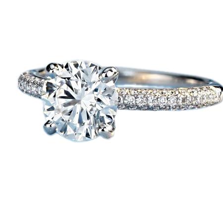 حلقه با سنگ الماس با کد محصول WE.RI.0003