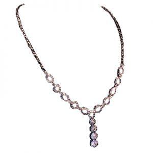 گردنبند با سنگ الماس با کد محصول NE.0009