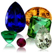 CHINA'S COLORED GEM STONES