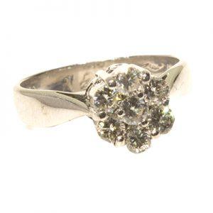 انگشتر الماس با کد محصول RI.0042