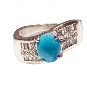 RING, TURQUOISE, DIAMOND, RI.0045
