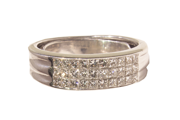 حلقه ازدواج الماس با کد WE.RI.0005