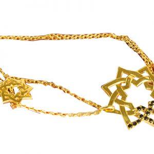 دستبند الماس سیاه با کد BR.0019