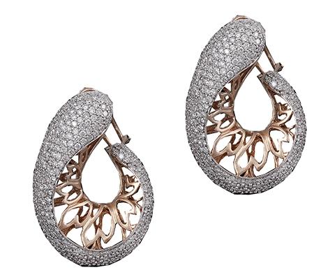 گوشواره الماس با کد EA.0017