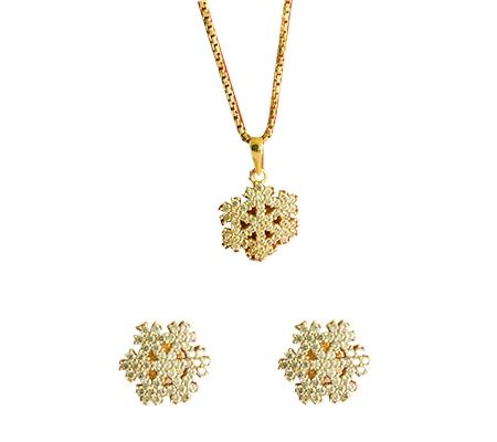 نیم ست الماس با کد H.S.0025