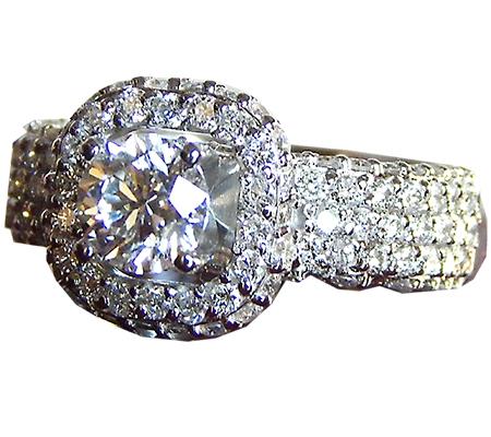 انگشتر الماس با کد RI.0048