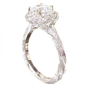 حلقه الماس با کد WE.RI.0007