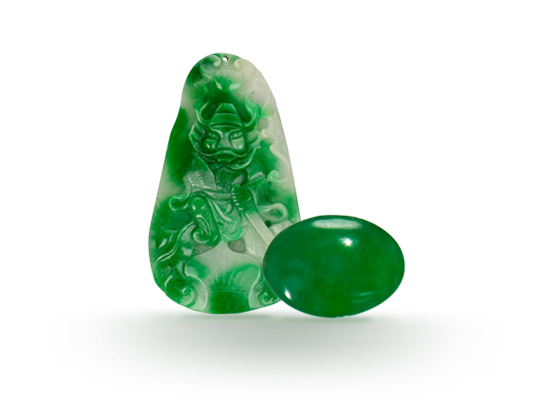 IDENTIFYING OF NATURAL JADE FORM SYNTHETIC