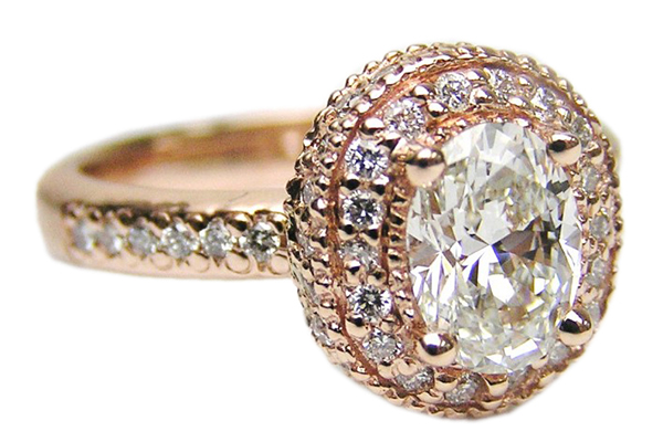 انگشتر الماس با کد RI.0052