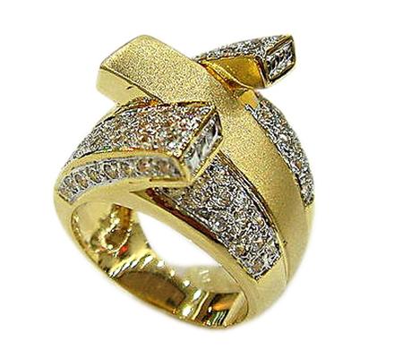 انگشتر الماس با کد RI.0055