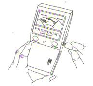 راهنمای استفاده از دستگاه گوهرشناسی پریزیدیوم