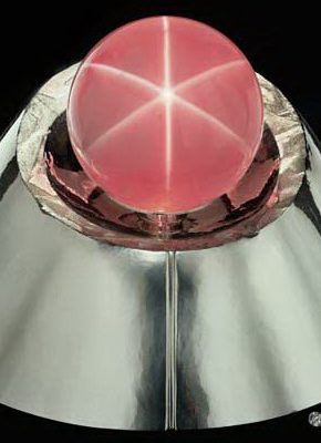 World's Largest Star Rose Quartz